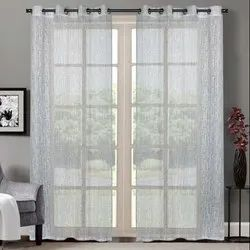 52 x 90 inch Cream Yogyata Sheer Curtain