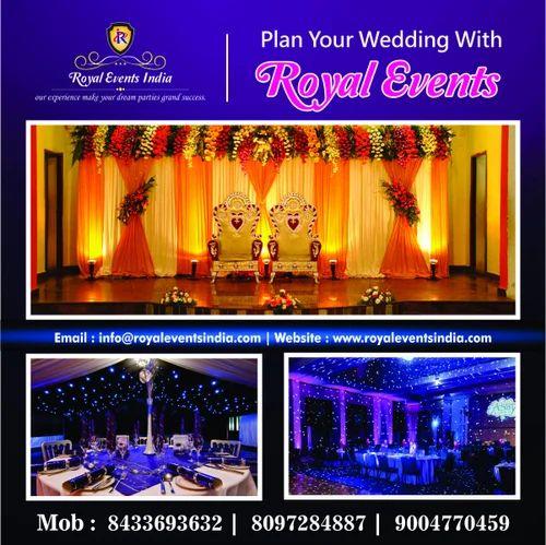 Wedding Event Organization, Wedding Planners - Royal Events
