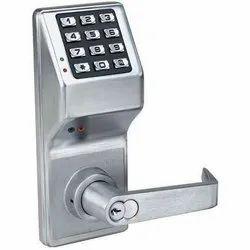 Zinc Alloy Electronic Door Lock, Stainless Steel