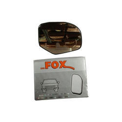 Red Fox Sub Mirror Plate, for Automobile