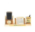 Wooden Top with Mobile Holder