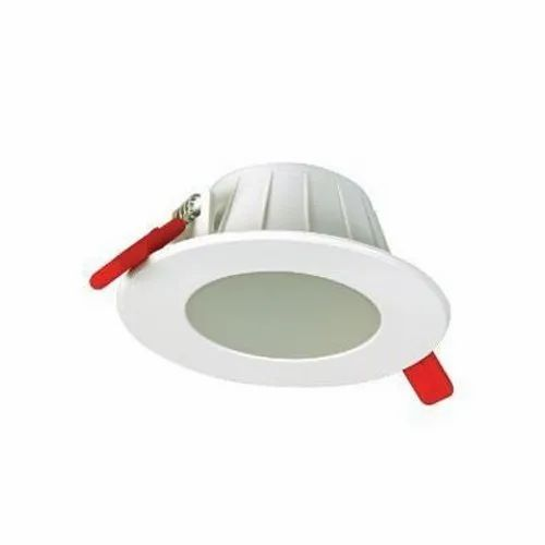 Ceramic Cool White 5W Round LED Light for Indoor, IP Rating: IP40