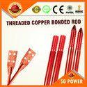 SG214 RCB Threaded Copper Bonded Rod
