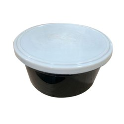 White And Black PP Disposable Food Container Box