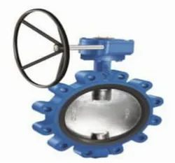 Lug Type Butterfly Valve - CI - Gear Operated