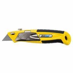 Auto-Loading Metal Utility Knife - QBA-375