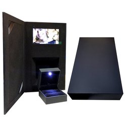 Compact Video Black Book Ring Box
