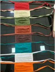 Multi Colour Cotton Reusable Face mask