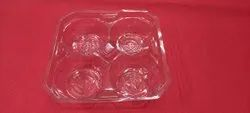 Muffin cake Tray 4 Pcs Packaging
