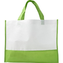 Pp Non Woven Non Woven Loop Bag For Shooping