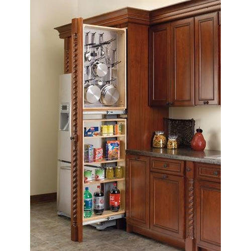 Pull Out Kitchen Cabinets: Long Life Pantry Pull Out Tall Unit, Rs 5800 /piece, Shree