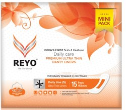 Reyo Mini Pantyliner 155MM