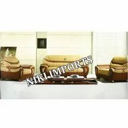 Empire Sofa Set - Rexine