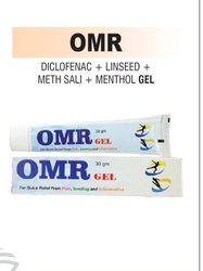 Diclofenac, Linseed Oil, Methyl Salicylate And Menthol Gel