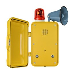 Industrial Emergency Broadcast Telephone
