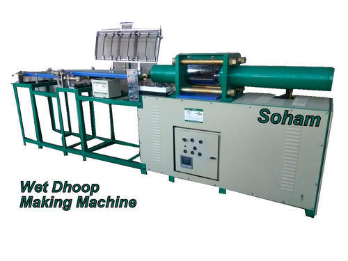 Fully Automatic Wet Dhoop Stick Making Machine