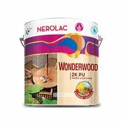 Nerolac Wonderwood 2K PU Exterior Wood Paint Coating, Packaging Type: Bucket