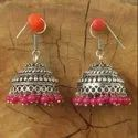 Festival Assorted German Silver Jhumkis