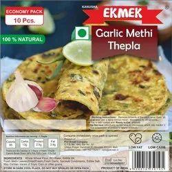 EKMEK Economy Pack - Garlic Methi Thepla