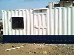 Comfort Mild Steel Prefabricated Office Cabin