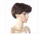 10 Inch Synthetic Men Wig Hot Heat Resistant Hair