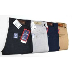 Blue Shade Mens Cotton Designer Pant, Size: 28-36