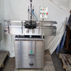 Medipack Bottle Crimping Machine, Capacity: 1200 To 1800 Bph, 0.75 Kw
