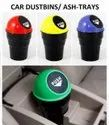 Mini Ash / Dustbin For Car, Bus With Auto Close Lid