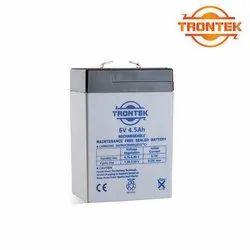 TRONTEK BATTERY, Warranty: 6 Month, Acid Lead Battery
