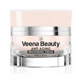 Veena Beauty Anti Aging Brightening Cream, Packaging Size: 1.76 Fl Oz (50 Ml)