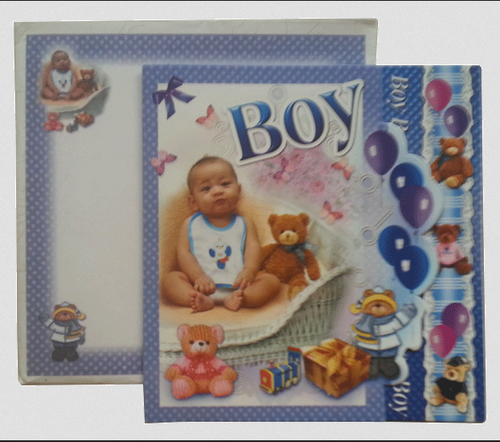 First Birthday Card Gg0505 2009