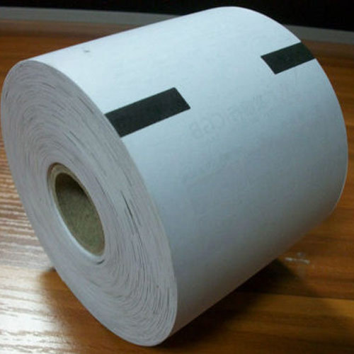 Plain White Thermal Paper Roll, Thickness: 70GSM