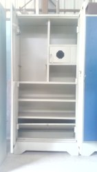 Plain Steel Cupboard