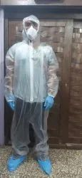 PVC Coverall For Corona Covid 19 Protection