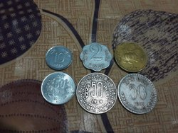 Coin Collectors old paise coins, RBI