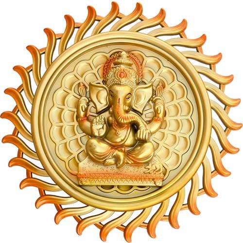 Chakra Ganesh Photo Frame