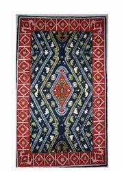 Handmade Zig Zag Pattern Rug