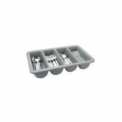 Agarwal Gray Cutlery Rack