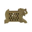 Soapstone Pen Holder Elephant Design