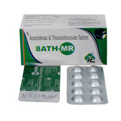 8ATH-MR Aceclofenac And Thiocolchicoside Tablets