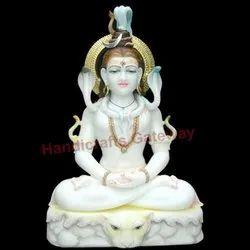 Makrana Marble Shiva God Statue