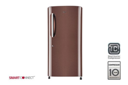 LG GL-B221AASY Single Door Refrigerator, Capacity: 215 L, Number Of Shelves: 2