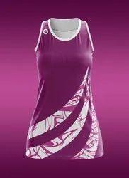 Female Round Neck Netball Dress
