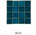 Turquoise Green Square Ceramic Glazed Plain Wall Tile, Size: 75x75mm, Thickness: 5-10 Mm