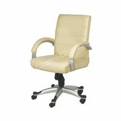 Beige Medium Back Executive Chair