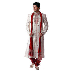 Embroidered Groom Sherwani