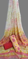 Cotton Chiffon Dupatta Suit Fabric