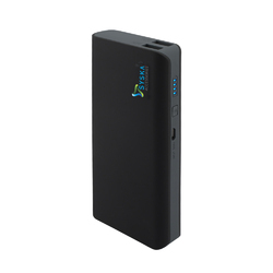 Black Syska X110 11000 mAh Li-Ion Power Bank