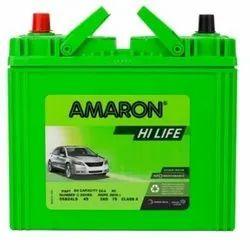 Amaron Automotive Batteries, Warranty: 24 Months, Capacity: 65-100 Ah