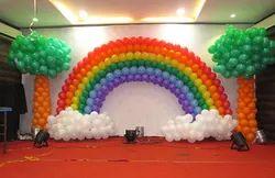 Birthday Balloon Decoration In Event